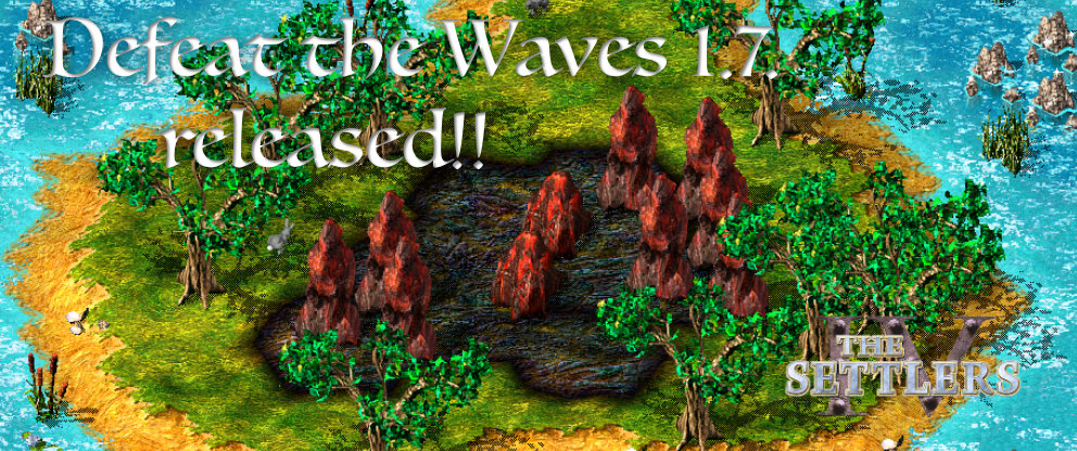 Defeat the Waves 1.7 Release!