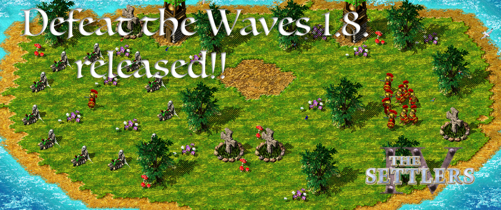 Defeat the Waves 1.8 Release!